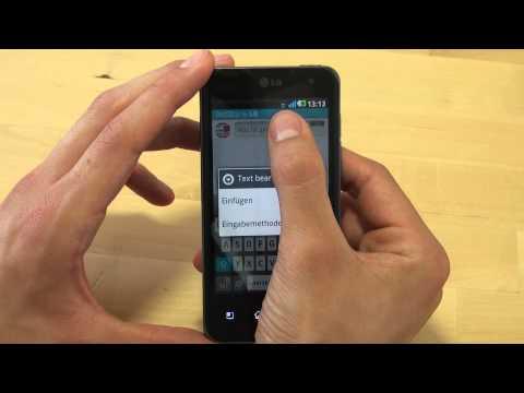 LG P990 Optimus Speed Test Internet