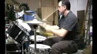 In-a-gadda-da-vida drum solo ed gallagher