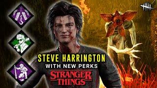 Steve vs Demogorgon, Are His Perks Good?  - PTB Gameplay - Dead by Daylight Stranger Things