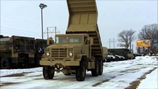 M929A2 5 Ton 6x6 Military Dump Truck