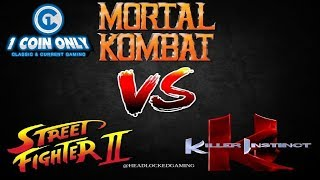 Kombat of the Mortals: Episode 78 - Mortal Kombat vs Street Fighter vs Killer Instinct