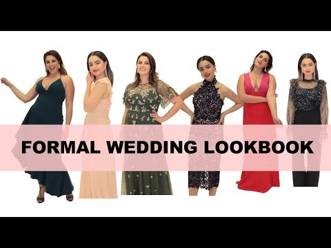 What to Wear to a Wedding - Formal Wedding Guest Attire- 6 looks!