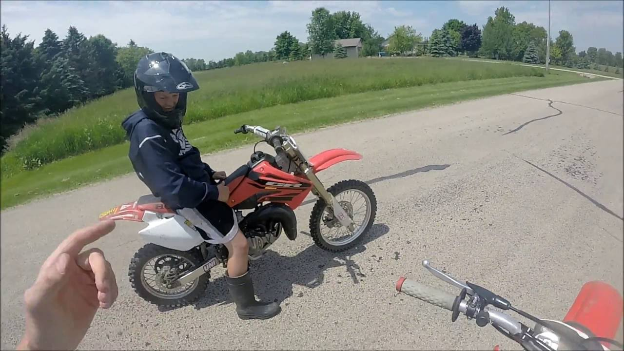 Honda Cr 80 vs  Honda Cr 85!!!