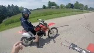 Honda Cr 80 vs. Honda Cr 85!!!