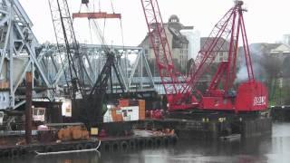 Victoria BC Johnson Street Bridge Demolition