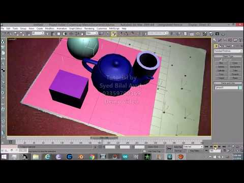 3DS MAX CAMERA TRACKING TUTORIAL (DETAILED)