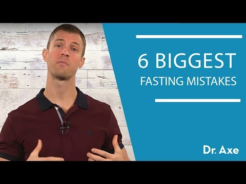 6 Intermittent Fasting Mistakes  Dr Josh Axe
