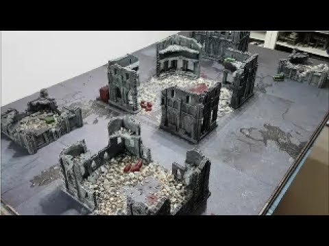 Dark Angels vs Death Guard; Warhammer 40k batrep