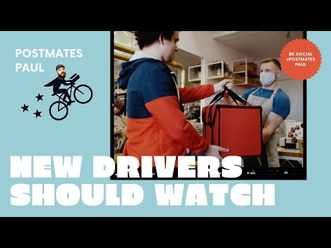 Postmates Delivery Tips for NEW drivers DONT GET SCAMMED!