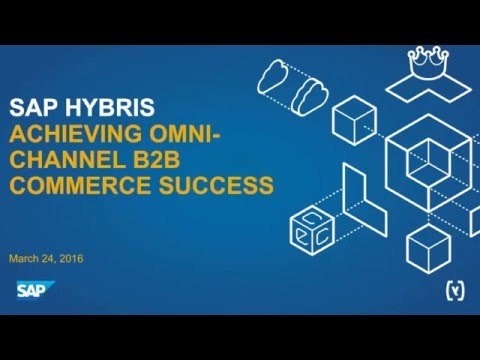 Achieving Omni-Channel B2B Commerce Success
