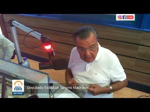 Targino Machado fala sobre pré-candidatura à prefeitura de Feira de Santana - Parte II