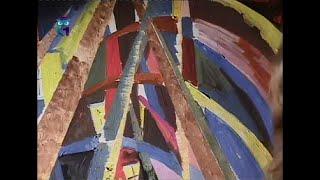 Уроки рисования (№ 98) гуашью. Учимся передавать ритмические цветовые ряды