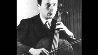 Schubert - Sonate D821 Arpeggione - Mov 2/3 - Emanuel Feuermann