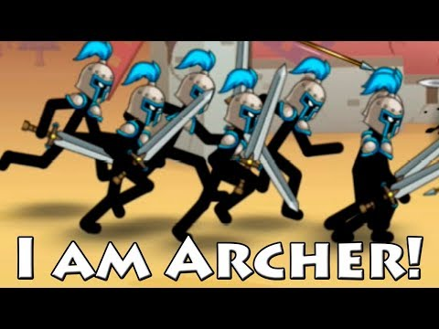 I am Archer! Clone Armies stickmen! Good Clone Stick War! Атака стикменов! #1