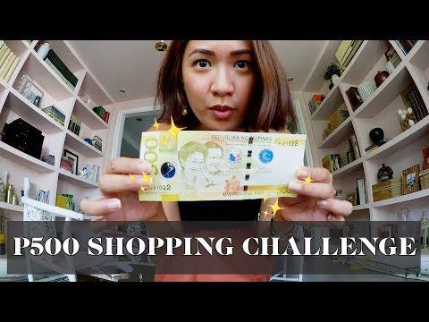 500 Peso Shopping Challenge (Ukay Ukay) | Laureen Uy