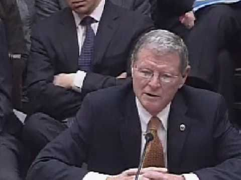 Inhofe Testifies Before the House on the Upton-Inhofe Bill to Stop EPA Backdoor Energy Tax