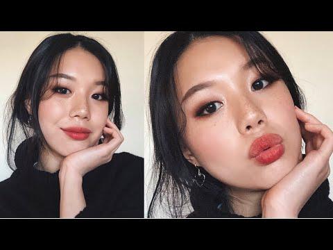 playing around w/ some new korean makeup :-)