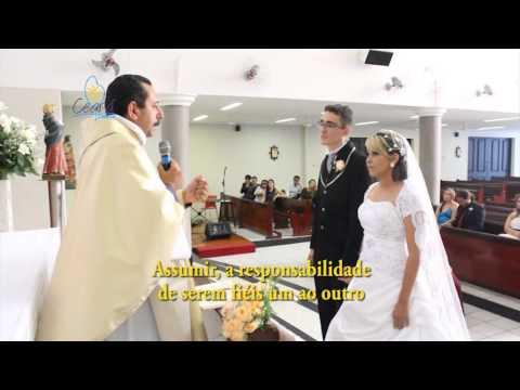 Programa Ceará Católico - Casamento de Daniel e Patrícia