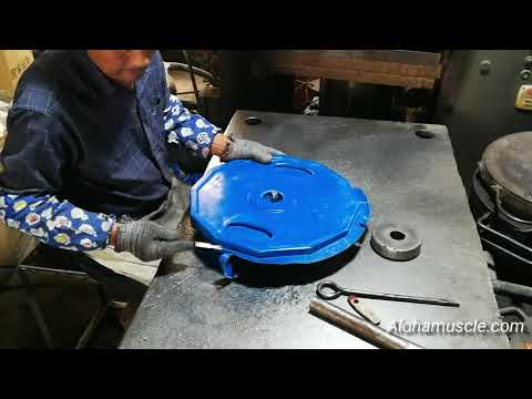 Rubber Weight Plates Making Process From China OEM Factory - MANTA