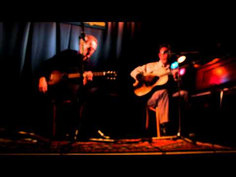 Dave Mullany and Terry Robb play at Artichoke Music in Portland, Oregon