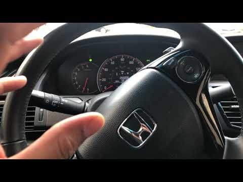 How to turn on/off the fog lights in a Honda Accord