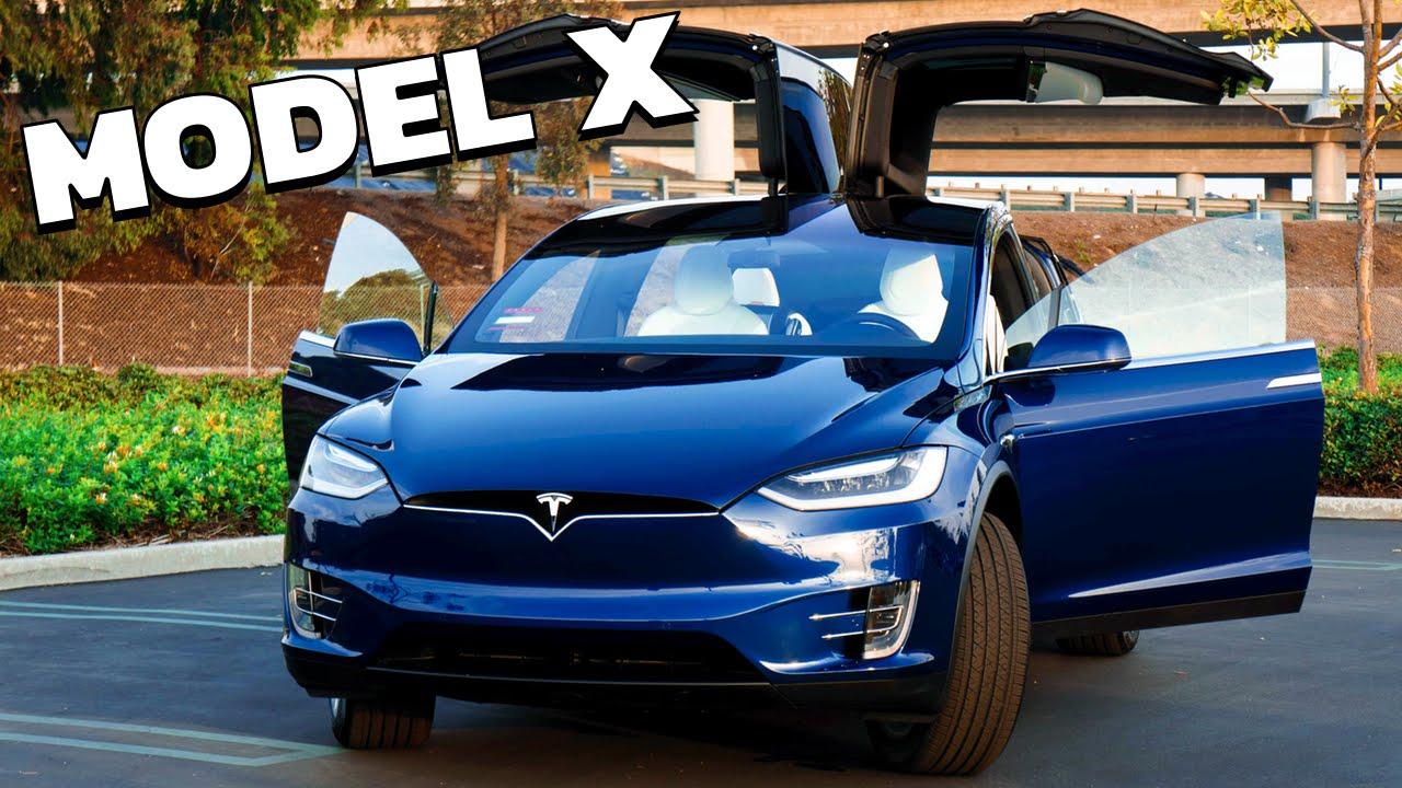 Tesla Model X: Meet My New Car! - YouTube