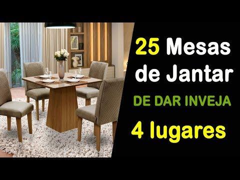 MESA DE JANTAR 4 CADEIRAS 25 FOTOS DE LINDAS MESAS DE JANTAR DE 4 LUGARES