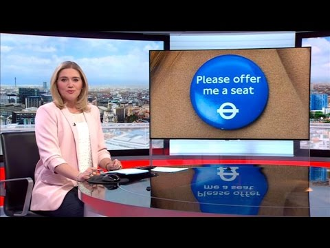 'Please offer me a seat' badges launched on the Tube