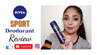 How to use deodorant perfectly?| Nivea Men Sport Deodorant Review | Zohainsight