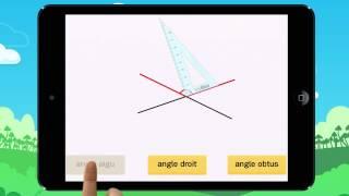 Video 3  Angle droit, aigu ou obtus  Ton équerre est déjà placée Exemple2