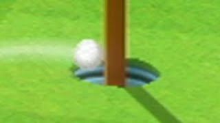 wii sports golf won't lęt me get my first hole in one