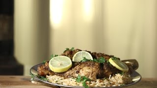 Jerk Chicken With Herb Fried Rice  Working Womens Kitchen  Chef Pallavi Nigam