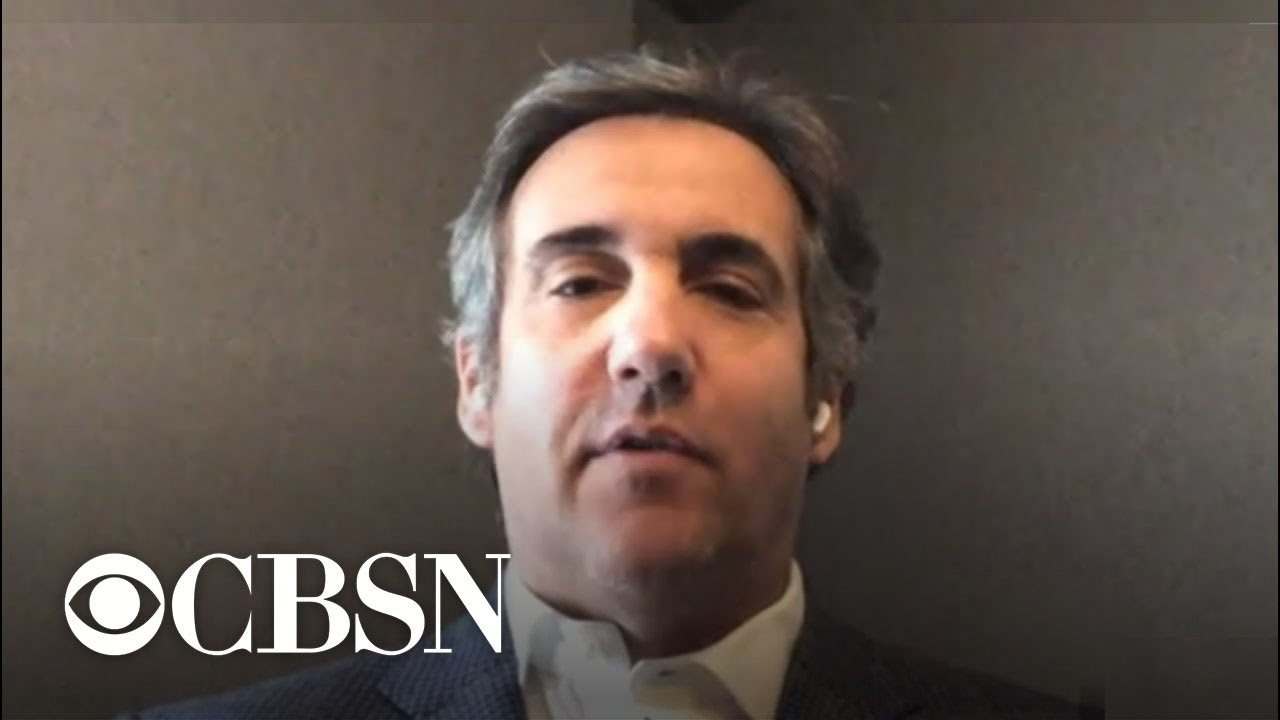 Download Trump's former lawyer Michael Cohen talks to CBSN about pardons and ongoing investigations