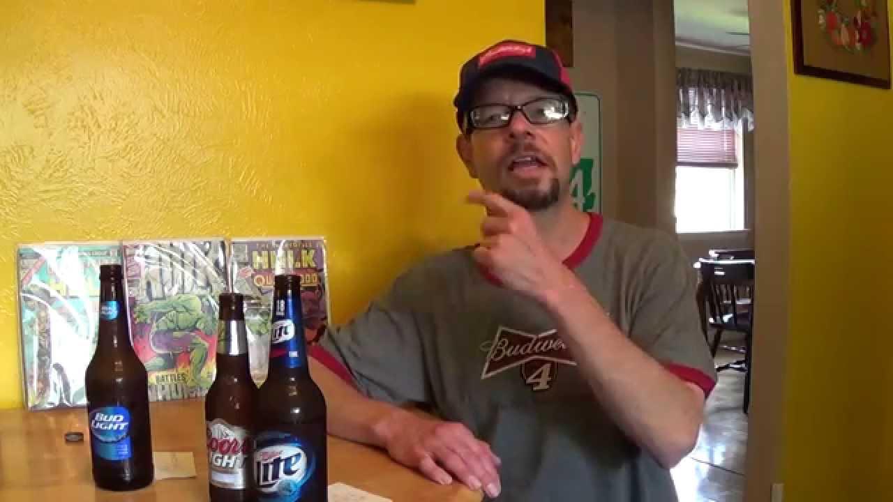 Taste Challenge 1 Bud Light vs Coors Light vs Miller