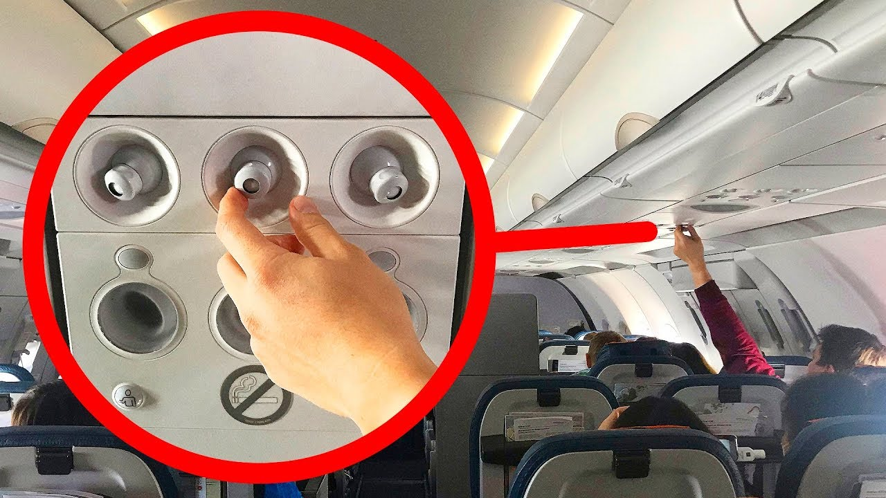 Почему в самолете нужно включать кондиционер