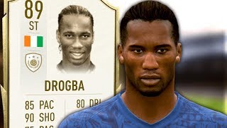 ICON SWAPS DROGBA PLAYER REVIEW - Fifa 20 Ultimate Team