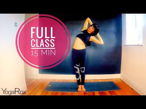 Roxy Shahidi Yoga - Full Class in 15 Minutes streaming vf