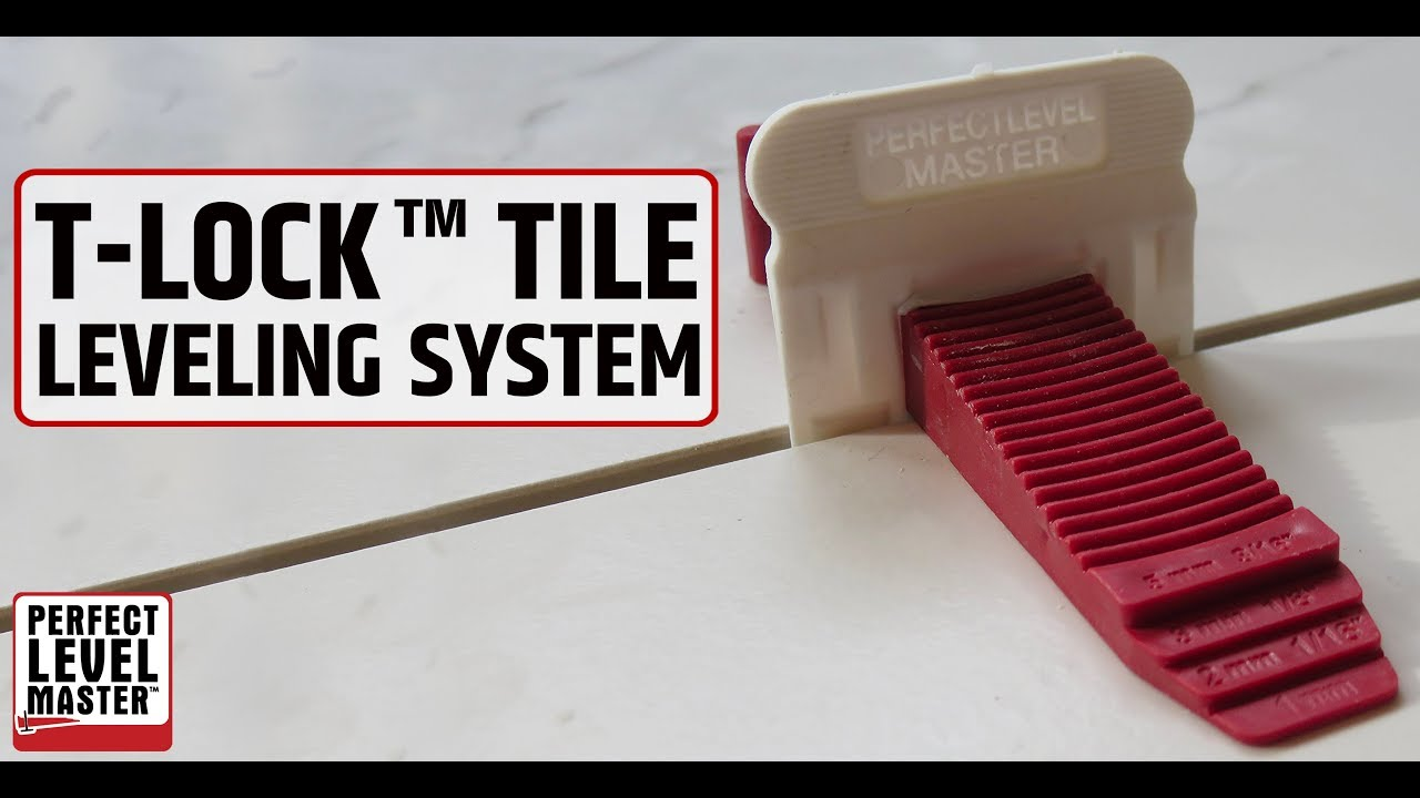 easy tile installation with t lock tile leveling system perfect level master