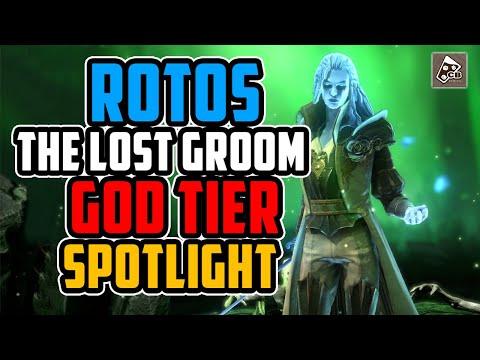 ROTOS CHAMPION GUIDE - MASTERIES - GEAR - GAMEPLAY | RAID SHADOW LEGENDS
