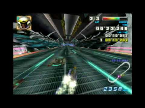 """F-Zero GX Snaking - Mute City Sonic Oval 33""""839 With Iron Tiger"""