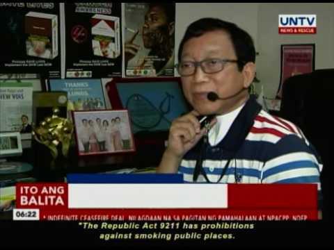 Pagpapatupad ng nationwide Smoking Ban, isinusulong ng Health Advocates
