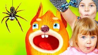 СМЕШНОЕ ВИДЕО ДЛЯ ДЕТЕЙ Новый игровой мультик ЖИВОТНЫЕ НА ДЕРЕВЕ детская игра Pepi Tree