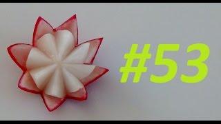 #53 Simple red radish flower / Prosty kwiat z rzodkiewki