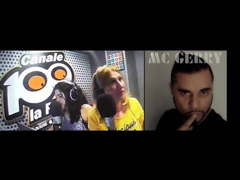 MC GERRY  INTERVISTA RADIO CANALE 100 BARI -FM.-94,900 ( -Vamos Bailar-)