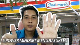 6 Power Mindset Menuju Sukses Training Indomaret 2020 Sop Indomaret Indomaret Youtube