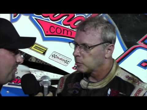 Williams Grove Speedway 360 Sprint Car Victory Lane 7-29-16