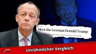 Friedrich Merz mit Donald Trump gleichgesetzt: US-Zeitung mit harscher Kritik an CDU-Politiker