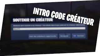 [TUTO] HOW TO A INTRO CODE CREATOR FORTNITE BATTLE ROYALE !!!
