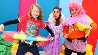 Komik video. Sema ve Arseny hangi kıyafet kimin challenge yapıyorlar!