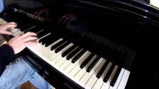 'Princess Mononoke Main Theme' ('Mononoke Hime') 'Grand Piano' Piano Sings Japanese Animation Themes